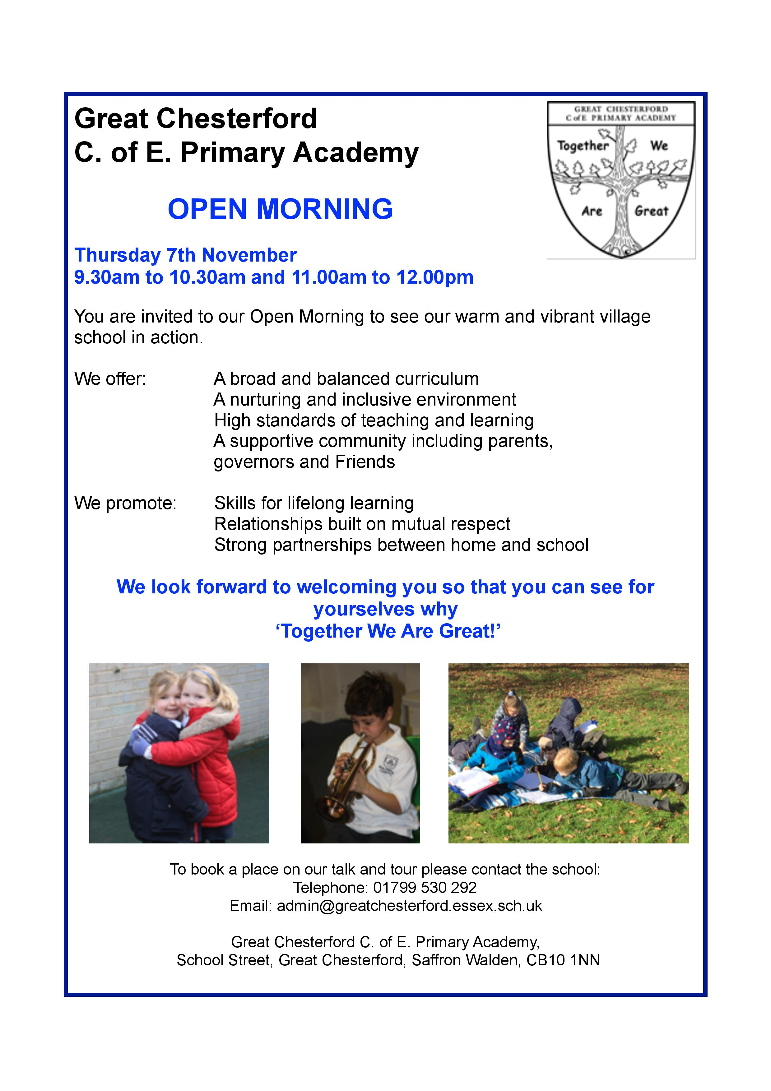 Open morning 7.11.2019 jpg